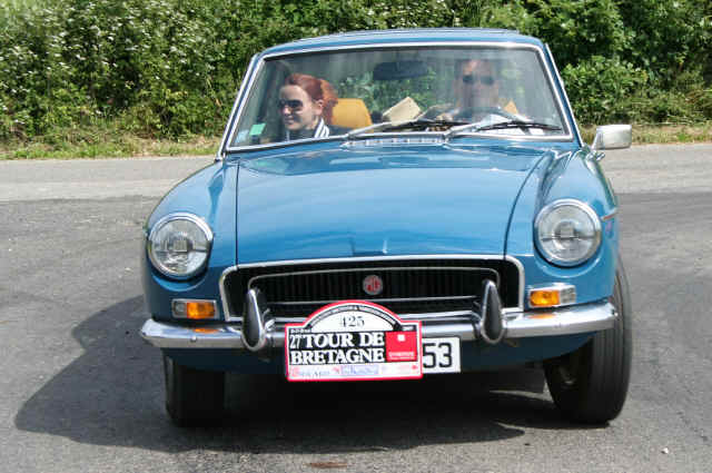 MG B G7 coupé 1972